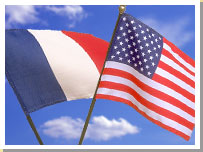 French US Flag