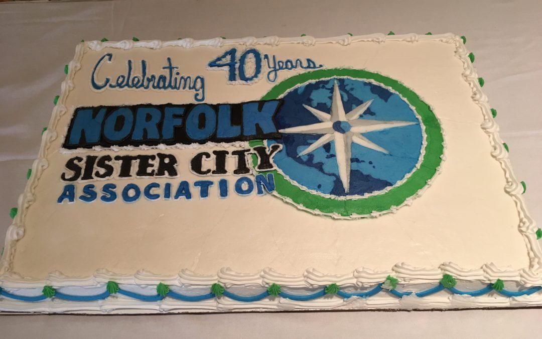 Norfolk Sister City Association Celebrates 40 Years!