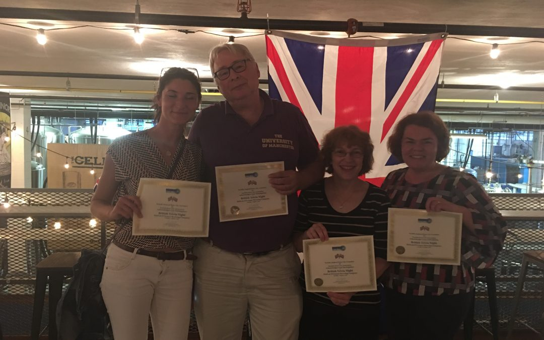 Norfolk County, England Hosts a Succesful British Trivia Night