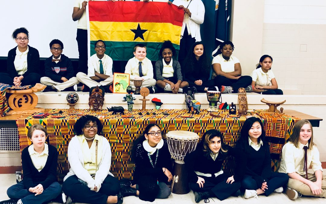 First YGC Program of the Year Takes Place at the Academy of International Studies at Rosemont