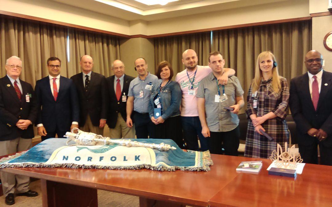 Spring Open World Delegation from Ukraine Focuses on Veterans' Affairs